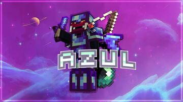 ~ AZUL [16x] Collab with Alius ~ Minecraft Texture Pack