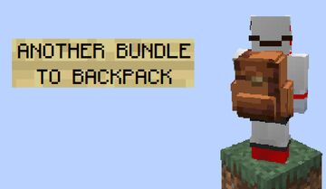 Another Bundle to Backpack Minecraft Texture Pack