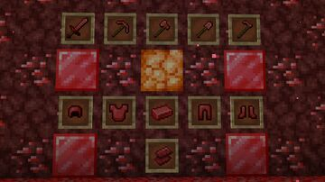 Red Netherite Minecraft Texture Pack