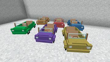 Rainbow Cabriolet Minecraft Texture Pack