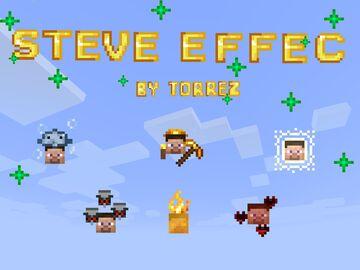Steve effect Minecraft Texture Pack