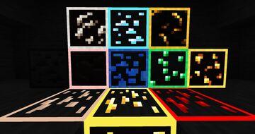Emissive Ores [1.16.5] Minecraft Texture Pack