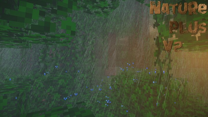 Popular Texture Pack : Nature Plus V2 Ultra Realistic Weather (No Optifine/Mods needed)