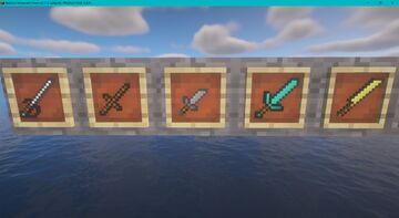 Different weapon/tool textures Minecraft Texture Pack