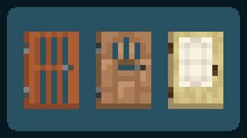 Superior Doors Minecraft Texture Pack