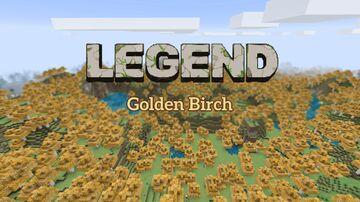 Golden Birch — Legend Add-on Minecraft Texture Pack
