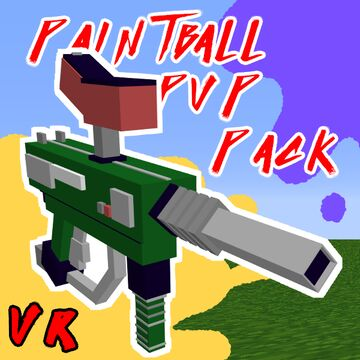 Paintball PVP Pack (VR EDITION!) Minecraft Texture Pack