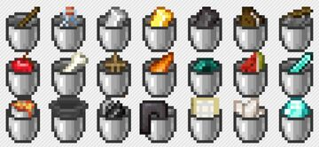 Bucket of Texturepack Minecraft Texture Pack