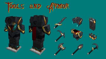 Tools and Armor-128x Minecraft Texture Pack