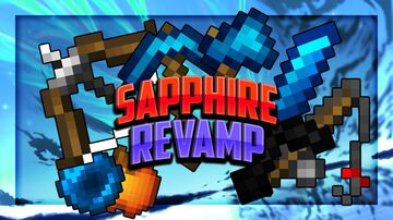 Sapphire [16x] Revamp FPS PVP Pack Minecraft Texture Pack