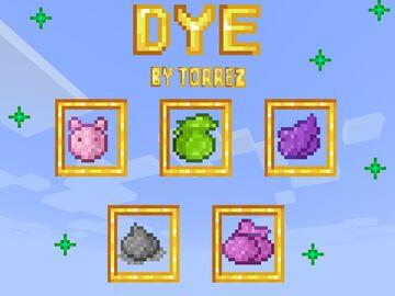 Dye Minecraft Texture Pack