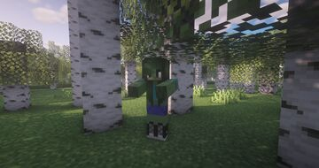 Cute Zombie 1.16.1 Minecraft Texture Pack