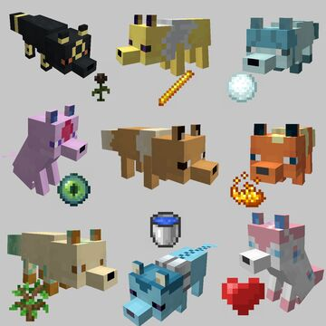 Eevee Foxes Minecraft Texture Pack