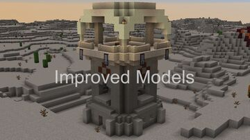 Improved Models Minecraft Texture Pack