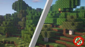 Leaf Disabler Minecraft Texture Pack