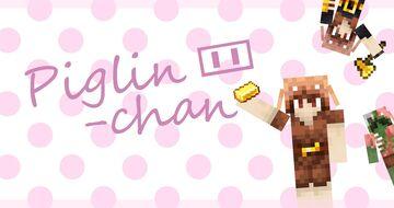 Piglin-Chan Minecraft Texture Pack