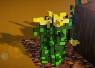 Mycraft : Yoshiko Forest Update v.01 / Custom 3D. Minecraft Texture Pack
