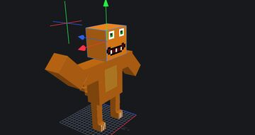 MODEL of Charmander for CharmanderGamer Minecraft Texture Pack