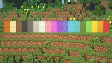 Colored Sandstone! Minecraft Texture Pack