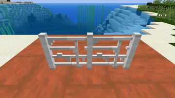 Manilla Iron Bars Minecraft Texture Pack