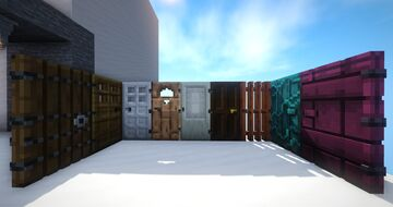 Cakeeh's improved doors & trapdoors(3D) Minecraft Texture Pack