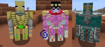Stand Golems (JoJo Part 3, 4 & 5) Optifine (1.15 updated) Minecraft Texture Pack