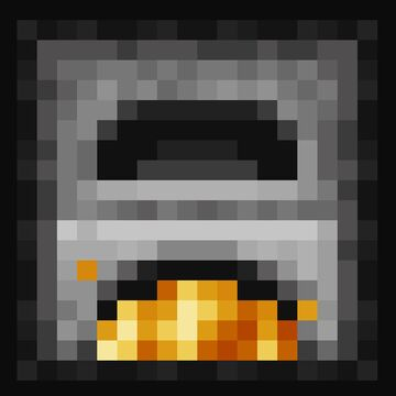 Animated Furnaces ◦ Bedrock Edition Minecraft Texture Pack