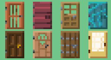 Accurate-ish Door Items Minecraft Texture Pack
