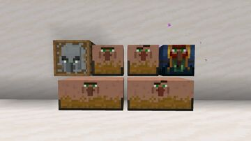 Villager Storage! (Maybe Even Iron Golem Shulkers?) Minecraft Texture Pack