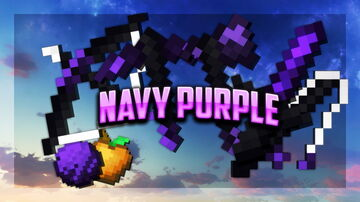 Navy Purple 16x FPS PVP Pack Minecraft Texture Pack