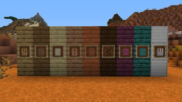 Better Colorful Doors Item Minecraft Texture Pack