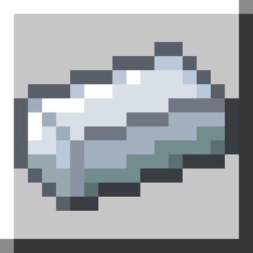 Better Programmer Art Iron Ingot (1.7-1.16) Minecraft Texture Pack