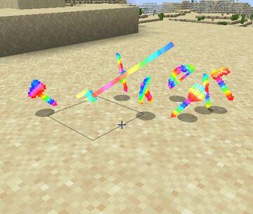 Rainbow enchantment Minecraft Texture Pack
