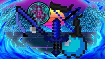 BLEU-pack-PVP/ tecknocif Minecraft Texture Pack