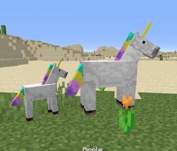 Unicorn Texture Pack - Java and Optifine Minecraft Texture Pack
