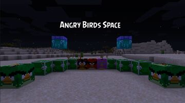 Angry Birds Space 1.15.2 Minecraft Texture Pack