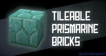 Tileable Prismarine Bricks Minecraft Texture Pack