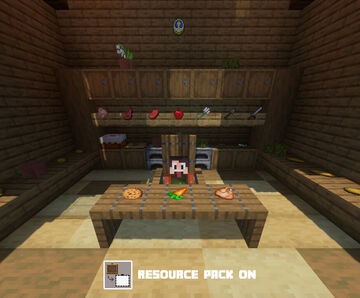 Invisible Item Frame for Implicit - 1.14.4 Minecraft Texture Pack