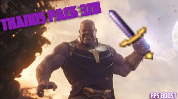 Thanos Pack [32x] (FPS Boost) Minecraft Texture Pack