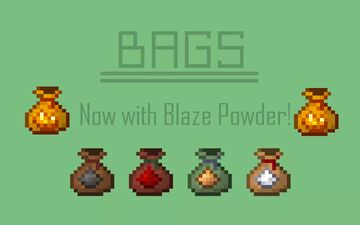 Powders into Bags Minecraft Texture Pack