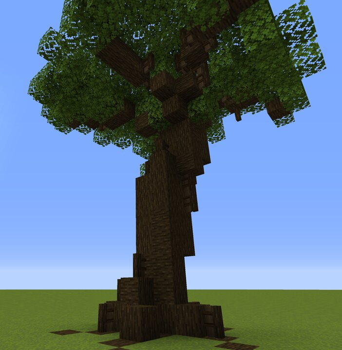 A simple tree I built using fences to add detail