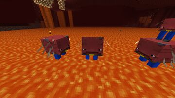Striders with pants Minecraft Texture Pack
