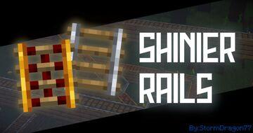 Shinier Rails Minecraft Texture Pack