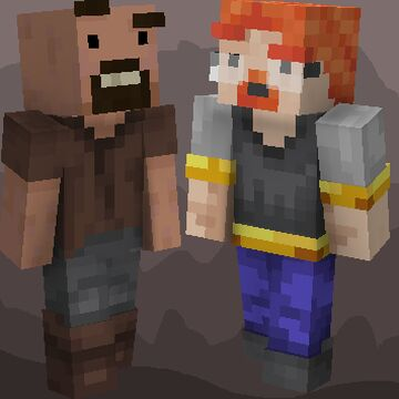 Notch and Jeb_ (Jappa ver.) Minecraft Texture Pack