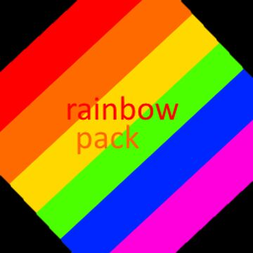 RainbowPack - The colorful textures pack! Minecraft Texture Pack