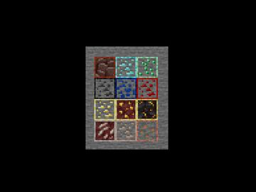 1.17 Ore Outline + new Budding Amethyst texture pack Minecraft Texture Pack