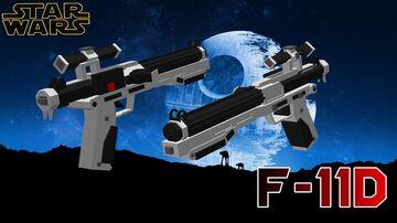 STAR WARS | F-11D Blaster Minecraft Texture Pack