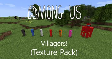 Among us Villagers Texture Pack Minecraft Texture Pack