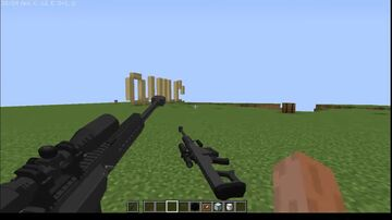 Guns for bow and crossbow Minecraft Texture Pack