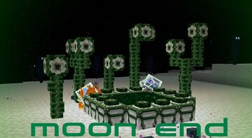 Moon end Minecraft Texture Pack